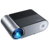 """Портативный мини-проектор высокой четкости 3800 люкс 1080P Компактный видеопроектор Поддержка машины Полный дисплей 44 """"-200"""""""