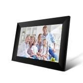 P100 WiFi Цифровая фоторамка 10,1-дюймовый 16 ГБ Smart Electronics Фоторамка APP Управление Отправка фотографий Push Video Сенсорный экран 800x1280 IPS ЖК-панель