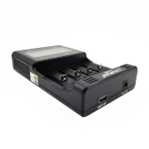 LiitoKala Lii-500S 18650 Battery Charger 4 Slots LCD Screen Display Touch Control for Lithium/NiMH 26650 AA AAA Battery