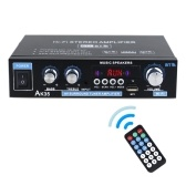 AK35 Mini Audio Power Amplifier Portable Sound Amplifier Speaker Amp for Car and Home