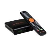 Receptor de TV GTMEDIA V7 S2X HD 1080P Soporte DVB-S / S2 / S2X AVS + VCM / ACM / Multi-stream / T2MI Soporte BISS Auto Roll Película en línea