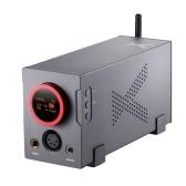 XDuoo XA-10 Высокопроизводительный сбалансированный ЦАП и усилитель для наушников 768K / 32Bit HiFi Усилитель для наушников USB DAC AMP Многофункциональный коаксиальный оптический усилитель для наушников для дома и компьютера Черный