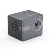 C50 Mini DLP Projector Portable Home Theater Projector HD Input USB Audio Output with Remote Controller Tripod