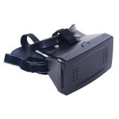 "Portable Head-Mounted Google Cardboard Version 3D VR Glasses Virtual Reality DIY 3D VR Video with Magnetic Switch Movie Game 3D Glasses with CSY-01 Mini Multifunctional Wireless BT V3.0 Selfie Camera Shutter Gamepad for iPhone Samsung / All 3.5 ~ 6.0"" Smart Phones"