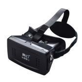 """Más vendido montaje en la cabeza gafas 3D privada Google Cardboard realidad virtual 3D VR Gafas DIY 3D VR vídeo con interruptor magnético juego de la película 3D Gafas con CSY-01 Mini multifuncional inalámbrico BT V3.0 selfie obturador de la cámara Gamepad para el iPhone Samsung / All 3.5 ~ 6.0 """"Teléfonos inteligentes"""