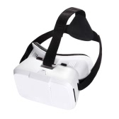 "Head-mounted Universal 3D VR Glasses Virtual Reality Video Movie Game Glasses with Headband for Google Cardboard iPhone 6S 6 Plus Samsung S5 S4 All 4 ~ 6"" Smart Phones"
