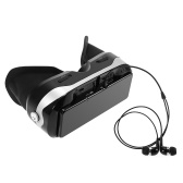 Second Hand VR07 Virtual Reality Glasses VR All-in-one Machine 3D VR Headset 1080P 5.5Inch Touch Screen 110° FOV 2GB / 16GB 2D / 3D / Panorama Immersive WiFi Bluetooth 4.0 w / Earphone Jack TF Card Slot US Plug