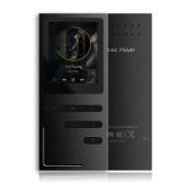 Segunda mano C18 Reproductor de MP3 de 8GB HiFi Metal Reproductor de música Sin pérdida APE FLAC Reproductor de audio Altavoz incorporado Radio FM Grabación de voz con ranura para tarjeta TF 1.8 pulgadas Pantalla Negro