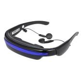"""4GB 52"""" 4:3 virtuel Wide écran vidéo lunettes lunettes Mobile privé cinéma numérique avec fente pour carte"""