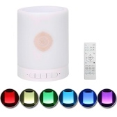 BT Speaker Wirelessly Colorful LEDs Loudspeaker Quran Support MP3 FM TF Card Radio Remote Control
