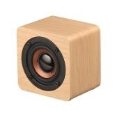 Q1 mini haut-parleur en bois portatif de Bluetooth