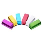 1 Stück 30 Löcher Dental Diamant Bohrer Desinfektionshalter Aluminium Block für Low & High Speed Bohrer Mund Zähne Polierbohrer Random Farbe