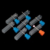 タングステンカーバイドスチールネイルドリルビットとブラシ金属ビット電気ネイルアートマシンバールナノコーティングネイルドリルアクセサリー