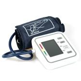 Плечо Стиль Автоматический электронный монитор артериального давления с большим ЖК-дисплеем Цифровой интеллектуальный прибор для измерения артериального давления