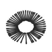 50pcs Tätowierung-Pigment-Tinten-Mischer-Rührstäbe für Microblading Tätowierung-Färben-Maschinen-Schwarzes