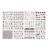 1 шт. / 12 комплектов Наклейки для маникюра для ногтей Рождественские наклейки Набор инструментов для ногтей DIY