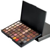 54 cores Sexy Professional Beauty Matte Glitter Pão de pigmento de longa duração Eye Cosmetics Maquiagem Tool Eyeshadows
