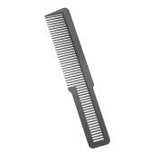 Anti-estático cabelo profissional pente de plástico escova de cabeleireiro