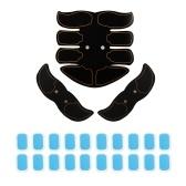 Черный Surface Yellow Edge Smart Fitness Kit Домашний электрический тренажер для мышечной боли в брюшной полости ABS-тренажер для EMS Фитнес-массажер для похудения Body Slimming Massage