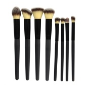 8 PCS Thermal Induktion Make-up Pinsel Set