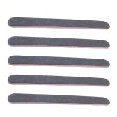 5 unids alta calidad lijado limas de archivos de uñas herramientas de diseño de uñas de arte negro salón de manicura conjunto de herramientas pedicura uv archivos de uñas polaco de gel