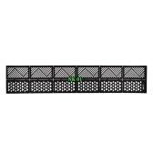 12シートネイルビニール接着剤超薄型格子縞のネットライン中空3Dネイルステンシルステッカーマニキュアネイルアートデコレーション