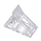 Набор из 5 шт. Прозрачного геля для ногтей быстрого наращивания зажимов для ногтей