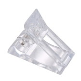 Set Of 5Pcs Transparent Nail Gel Quick Building Nail Tips Clips