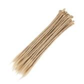 1 Pack 10 PCS Handmade Dreadlocks Extensions Мода Регги Вязание крючком Хип-хоп Синтетические Dreads Вязание крючком Плетение волос 24 #