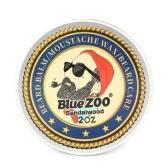 Blue ZOO Bigote Wax Todo-Natural y Orgánico Barba Acondicionamiento Bálsamo Barba Cuidado para Hombres Barba Crecimiento