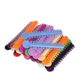 40 Stücke Hohe Elastizität Dental Ligature Krawatten Elastische Gummi Zahnspangen Dental Aufkleber für Zähne Kieferorthopädische Behandlung