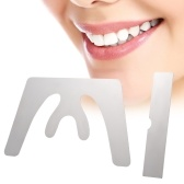Plano de mandíbula autoclavable del bastidor del acero inoxidable oclusal dental oclusal