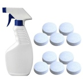スプレーボトル汚れリムーバーキッチンバスルームホームクリーニングツールホワイトと多機能発泡スプレークリーナー
