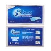 Tiras que blanquean dientes de 5PCS 3D Tiras anti-sensibles del gel