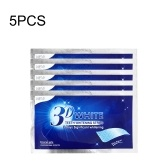 5PCS 3D Teeth Whitening Tiras Anti-Sensitive Gel Tiras
