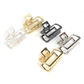 Geometric Square Shape Metal Alloy Hair Clip