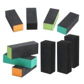 Tampão 10pcs Nail Arquivos Set Bloco Nail Art Shiner Polimento Manicure Kit Arquivo Salon Professional Set Arquivo