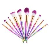 10er Mermaid Kosmetik Pinsel Kit drei optionale Styles