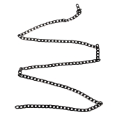1pc / pack Gold Black 3D Cadeias Punk Snake Bones Design Nail Studs Metal Nail Art DIY Decorações Charm Manicure Acessórios