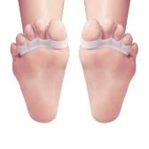 1 Par Separador Do Dedo Do Pé Do Gel Toe Macas Toe Espaçadores Aliviar Joanete Dor Toe Straightener Achilles Maca Para Homens & Mulheres