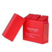 300 Folha / Caixa de Tiras de Papel de Articulação Dental Vermelho Dental Lab Produtos Ferramenta Oral Dentes Care Whitening Material