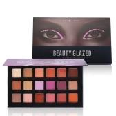 Красота Глазированные тени для век Длинные макияж Палитра Shimmer Матовый пигмент блеск Eyeshadow Pallete Cosmetic