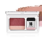 Paleta de maquiagem GECOMO Double Color Eyeshadow