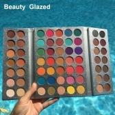 63 cores beleza vitrificada encantadora paleta de sombra