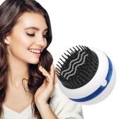 Massaggiatore portatile Pettine per capelli Massaggiatore per cuoio capelluto Spazzola per shampoo Massaggio elettrico Funzionamento a batteria con vibrazione