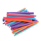 36pcs Lockenwickler Hersteller Spongia Schaum Twist Locken DIY Styling Haarrollen Flexible Curling Rods Frisur Werkzeug