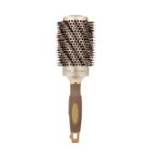 Escova Profissional de cabeleireiro Escova de rolo de cabelo cerâmico e ônico Nano Pele de cabelo com pente redondo Resistente a altas temperaturas