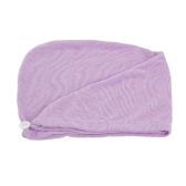 Toalhas de secagem de cabelo rápido e seco Tampão de cabelo absorvente de água Geladeira de banho para todos os tipos de cabelos e comprimentos Cor aleatória