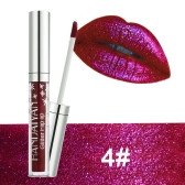 HANDAIYAN Glitter Flip Lipstick Non-stick Diamond Shinning Lipgloss Shimmer Радужная русалка Блеск Длительные жидкие губные помады Bling Bling Metallic Lip Gloss