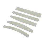 5pcs / lot Nail Files 100/180 Grit 5 Различные формы Длина 18CM Thin 0.4CM Блок буфера ногтей для ухода за ногтями польский